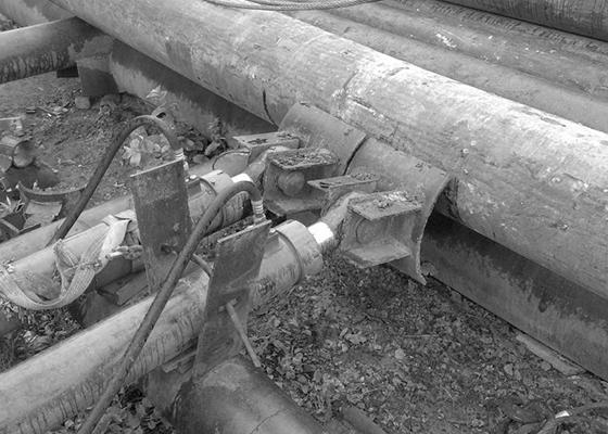 Выпрямление стальных труб