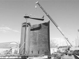 Демонтаж промышленных сооружений