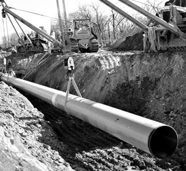 Б/у трубы для бытовой и промышленной канализации