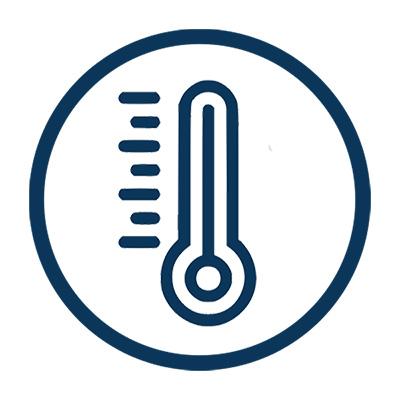 Выдерживают высокие и низкие температуры.