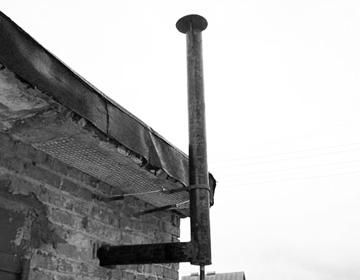 Дымоходы из стальных б/у труб