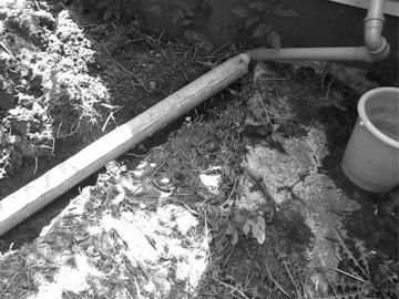 Б/у трубы для дачной канализации