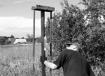 Подбираем высоту столба из б/у трубы