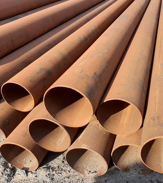 Труба стальная прямошовная б/у 325 мм