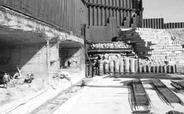 Строительство защитных гидротехнических сооружений