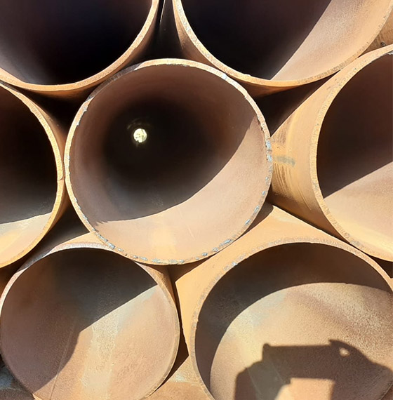 Трубы б/у стальные прямошовные 426 мм